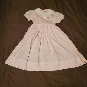 Kelly's Kids VTG Pink and White Little Girls Dress